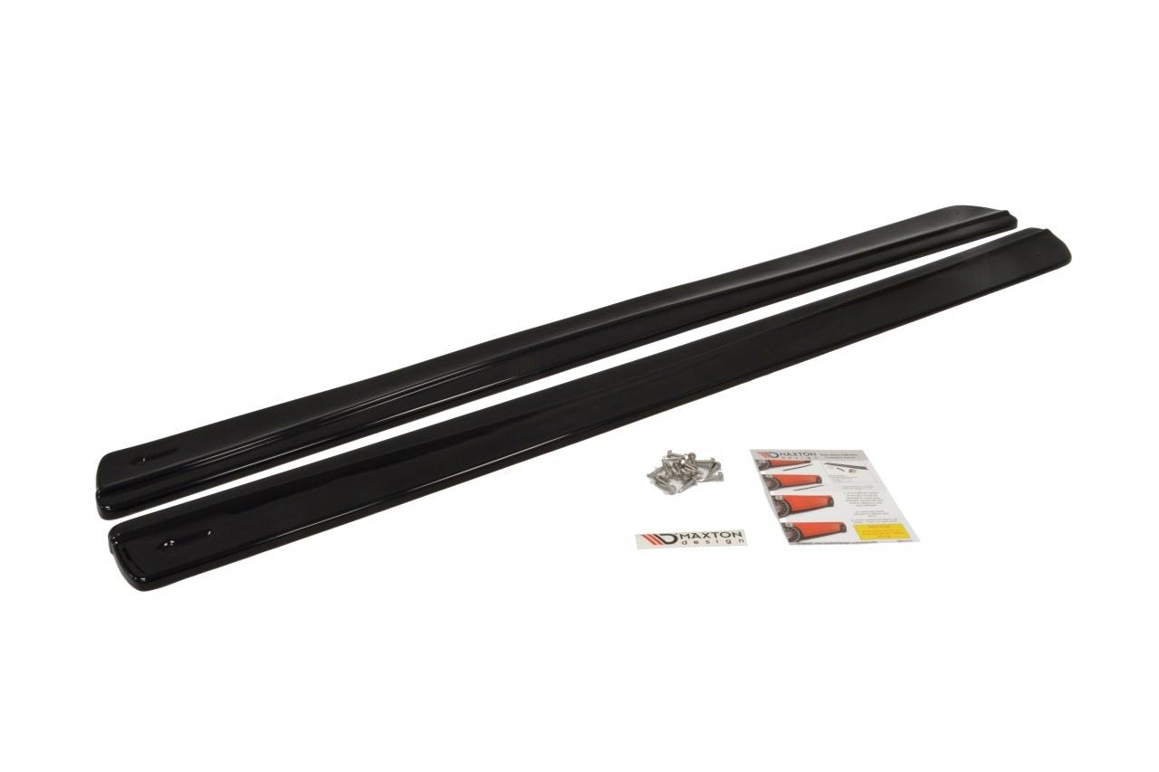 Dokładki Progów Seat Ibiza IV Sport Coupe Przedlift - GRUBYGARAGE - Sklep Tuningowy
